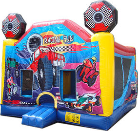 bounce house combo slide birthday party rent