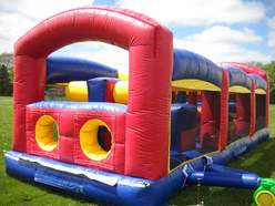 inflatable obstacle course rent