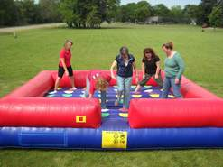 inflatable twister rent