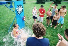 water games dunk tank water fun